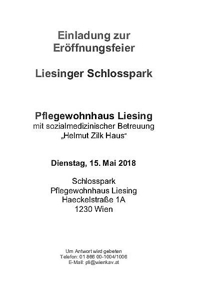 Einladung zur Eröffnungsfeier Liesinger Schlosspark am 15.5.20180002-02
